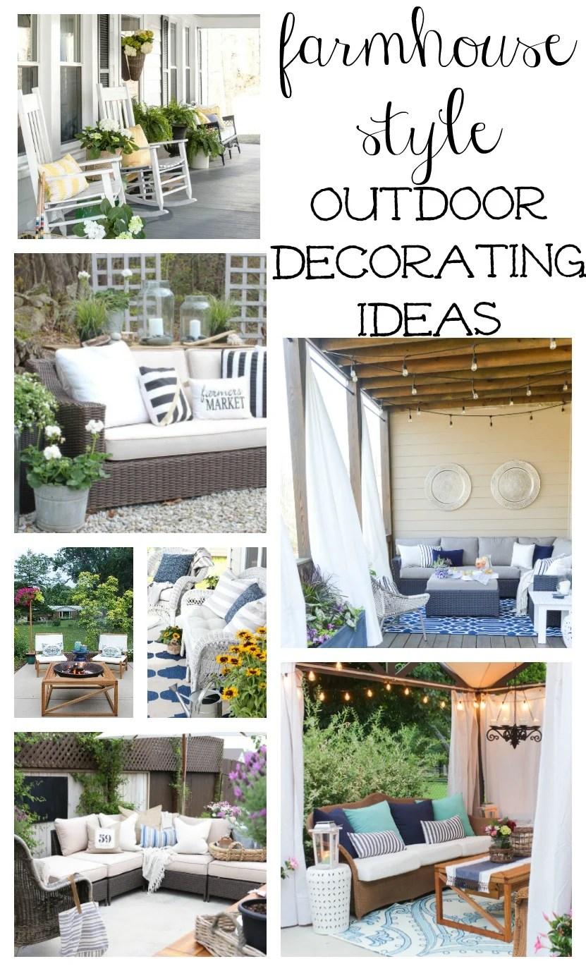 Back Porch Furniture Ideas