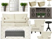 Farmhouse Rehab: Affordable Living Room Makeover