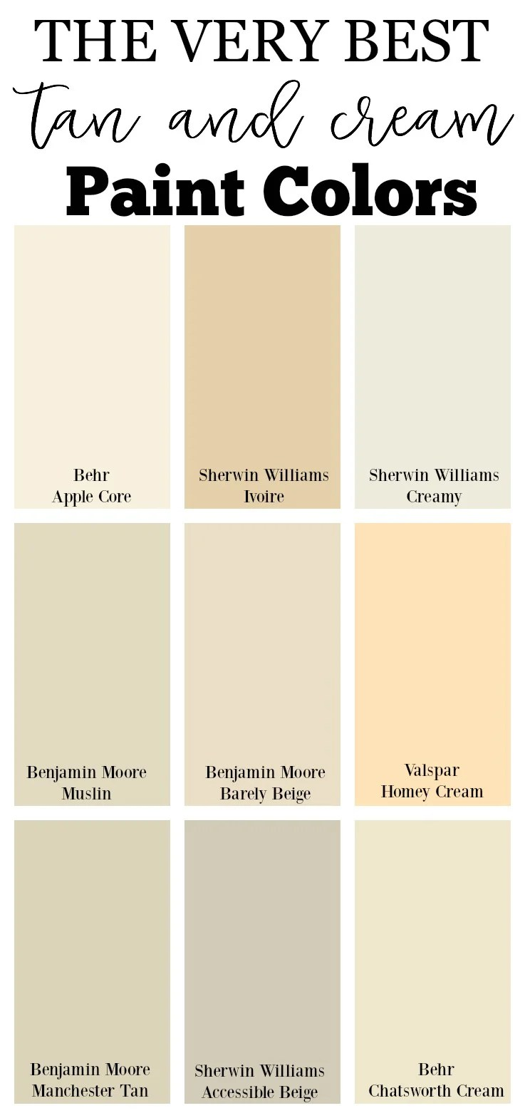 Beige Walls And Furniture Color
