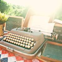 Typewriter Guestbooks
