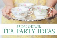 Bridal Shower Tea Party Ideas | Pretty Little Inspiration ...