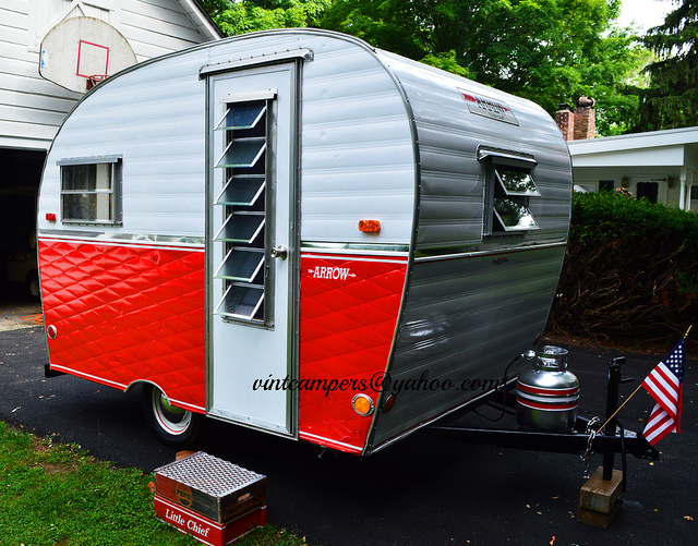 1965 Arrow Little Chief Camper For Sale