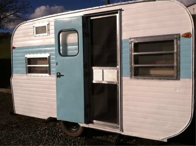 1971 Go Tag A Long Vintage Trailer For Sale