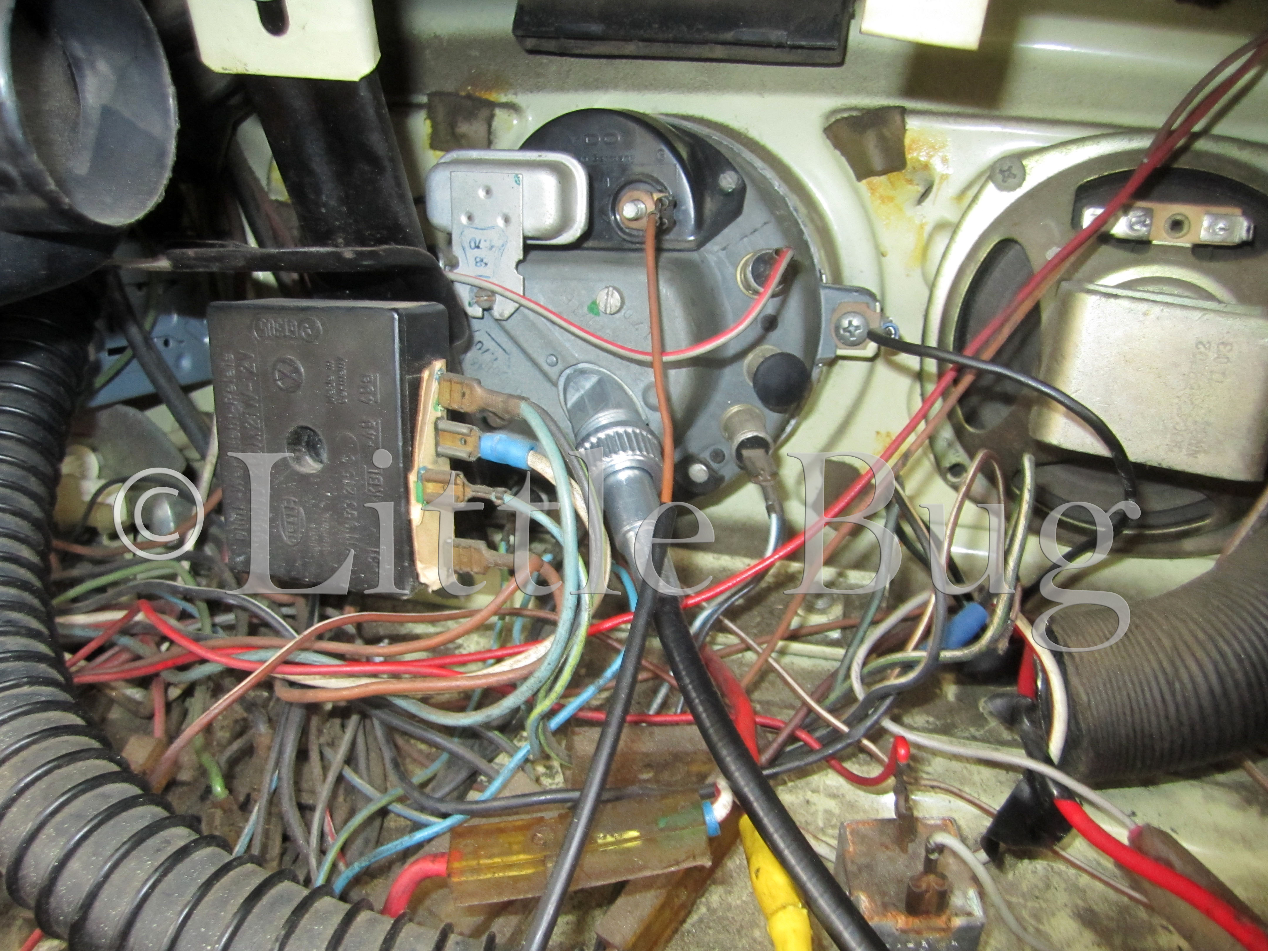 Wiring Diagram For 74 Vw Beetle