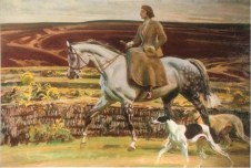 Lady Munnings On Exmoor