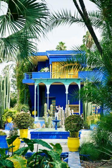 Jardin Majorelle - via travelandleisure.com