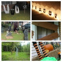 Halloween Roundup | DIY Yard Decorations | littlewillowtree