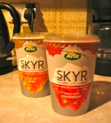 Skyr: The Icelandic yogurt