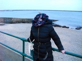 It's a wee bit windy