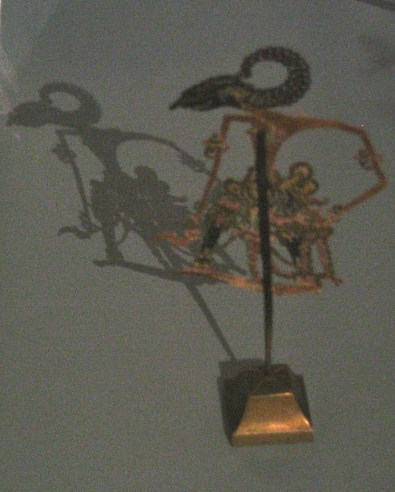 Intricate shadow puppet