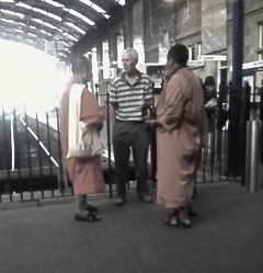 Two monks in Plymouth