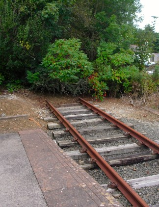 Literally: end of the line