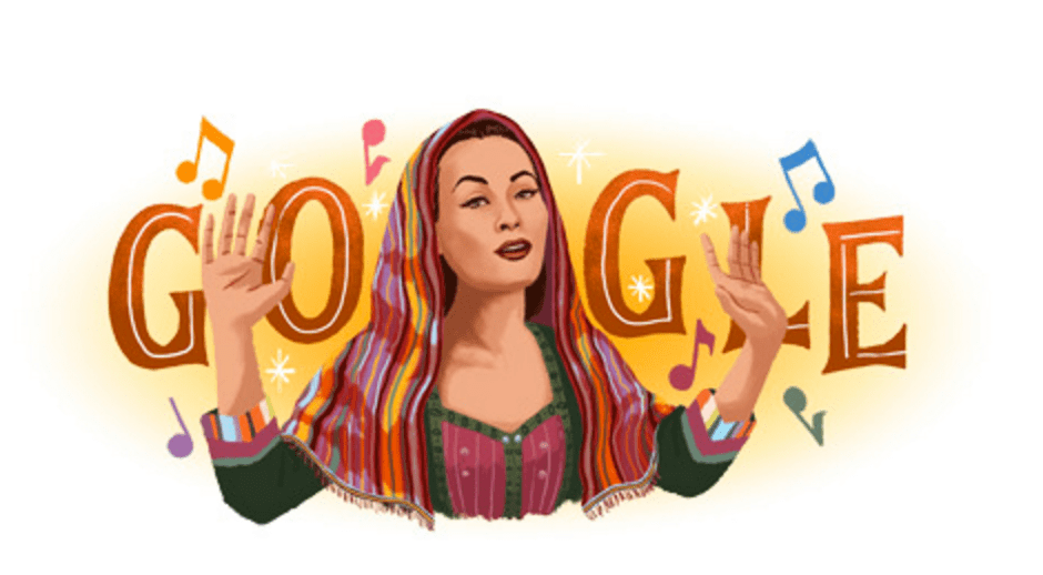 Yma Súmac: Google Doodle Pays Tribute to Late Peruvian Songbird