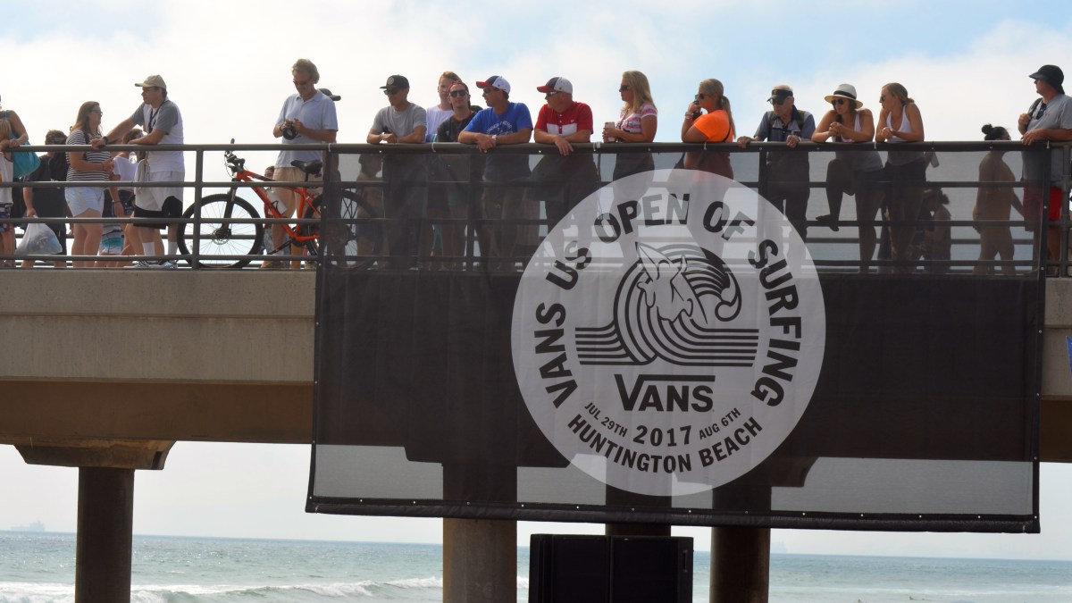 Vans U.S. Open of Surfing Day 5: Just Keep Laughing