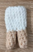 legs and body for amigurumi fox girl in a free pattern