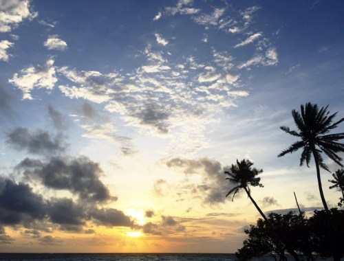 Gulhi, Maldive Islands - Sunset - July 2016