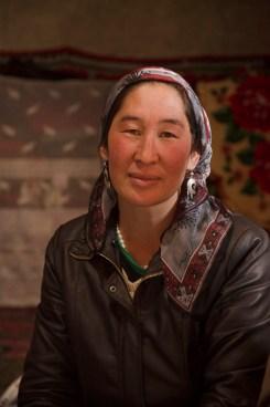 Kyrgyz woman, Karakul