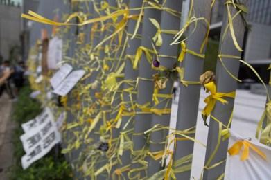Yellow ribbons