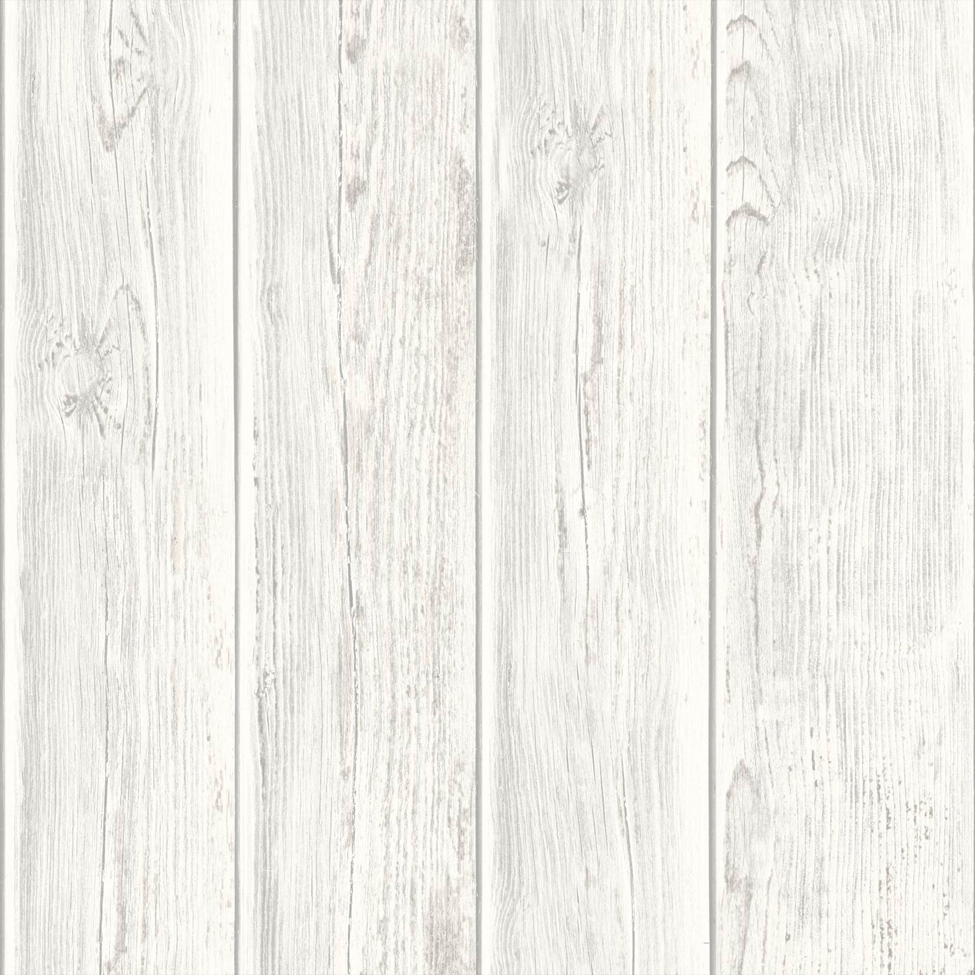 3d Washable Stone Wallpaper Rustic Wood Faux Textured Plank Panel White Vinyl Feature