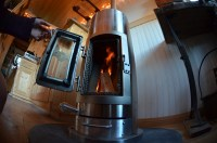 A tiny wood stove for a tiny house | littleyellowdoor