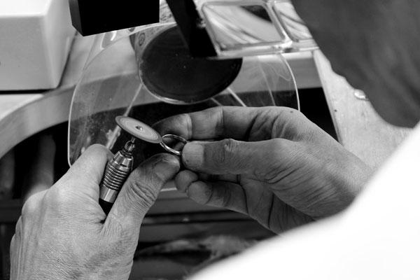 指輪手作り