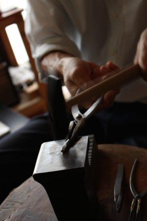 職人が一から手作り。鈴木様オーダーメイド結婚指輪