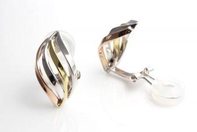 コンビイヤリング/素材:k18ゴールドk18ピンクゴールドk14ホワイトゴールド ¥43,300