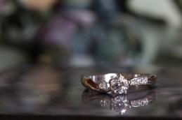 k様オーダーメイド バラの婚約指輪&結婚指輪