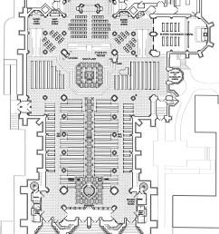 basilica of the assumption floor plan [ 1325 x 1800 Pixel ]