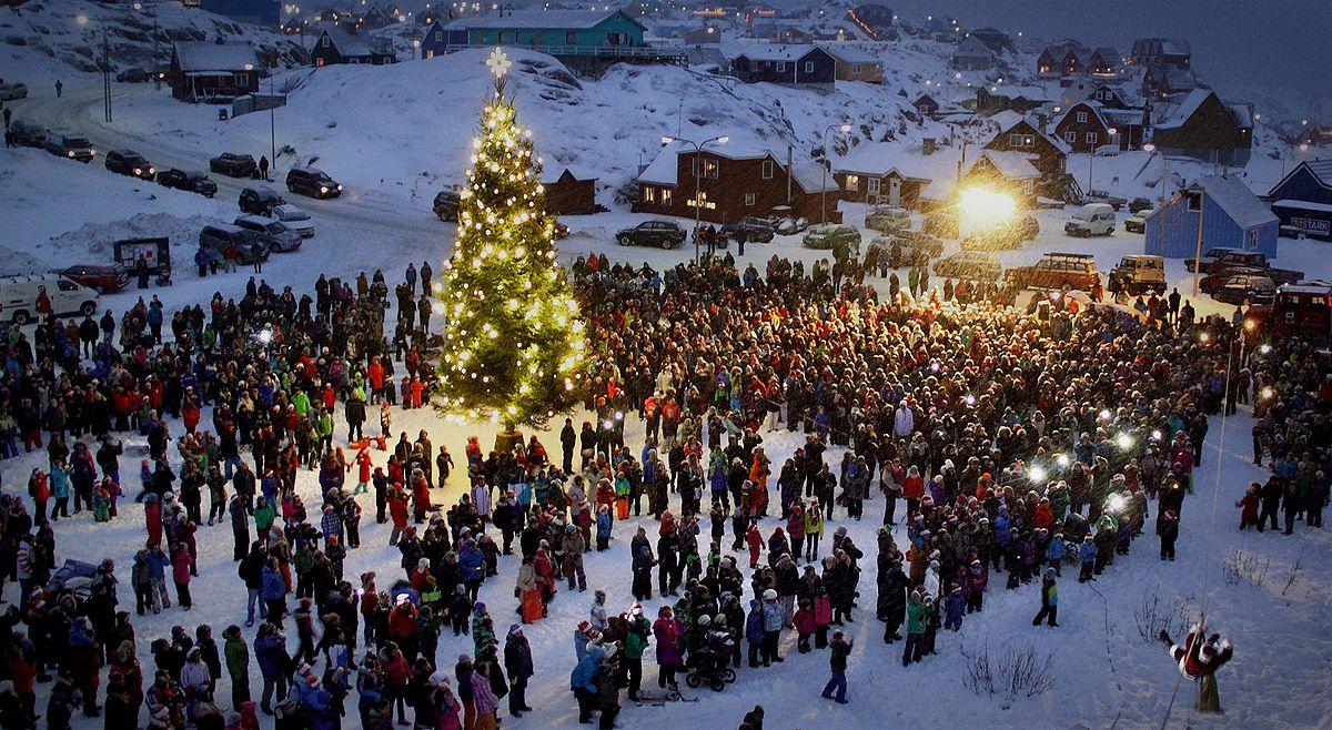 Weihnachten In Grönland