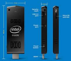 Compute Stick - PC INTEL STCK1A32WF Atom Z3735F, 2GB, 32GB, Win10