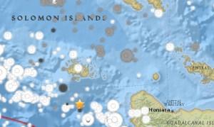 Земетресение с магнитуд 6,0 удари в Соломоновите острови