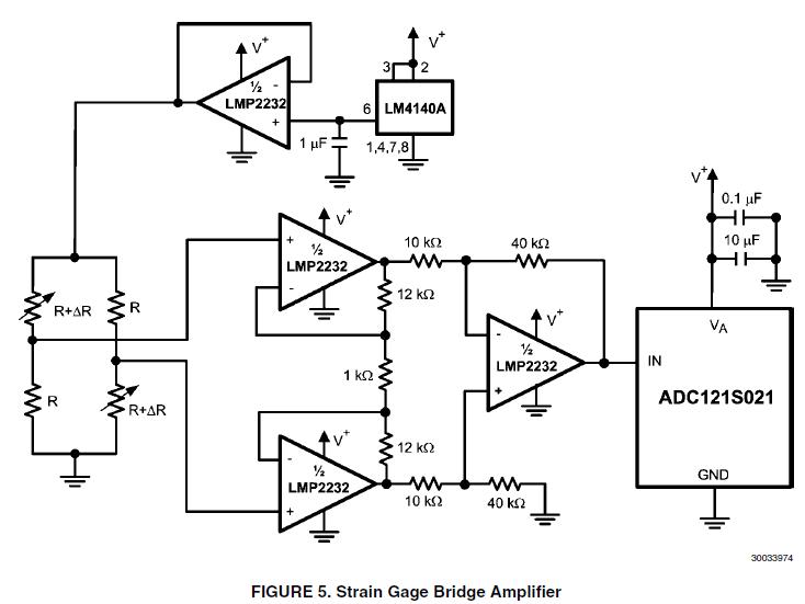 Strain gauge circuit question