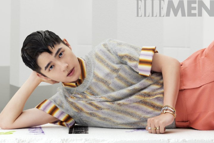 ELLE Men: An Enthusiastic Heart