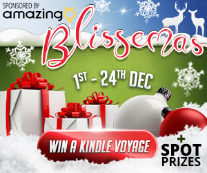 Blissemas 2016 - Win a Kindle Voyage