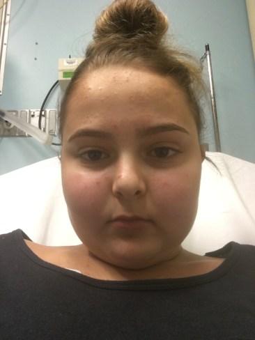 Olivia at the ER