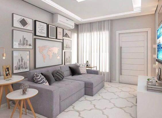Sala pequena dicas para decorar e otimizar seu espaço