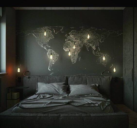 Luminária pendente com Lâmpadas de filamento - LIV Decora
