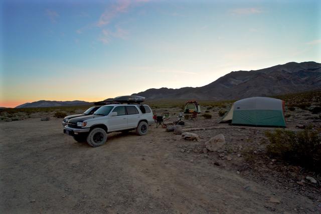 Sunrise at Homestake Dry Camp