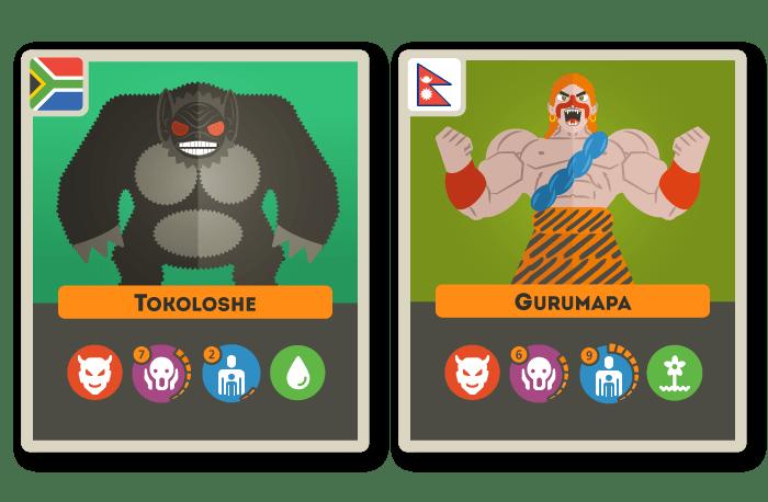 Tokoloshe et Gurumapa