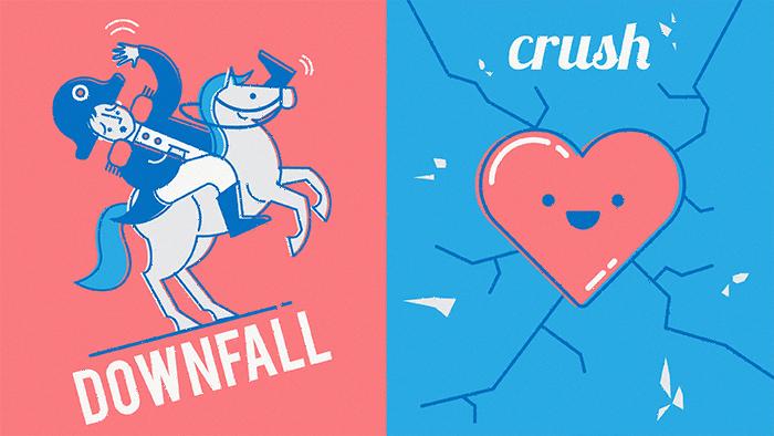 downfall - crush