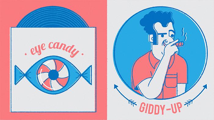 Eye candy fait partie de la liste des mots que je préfère en anglais !