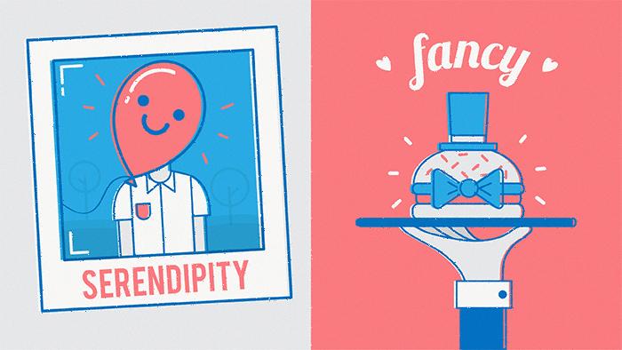 Dans la liste des mots anglais préférés de notre rédacteur, on retrouve également le fameux « serendipity »