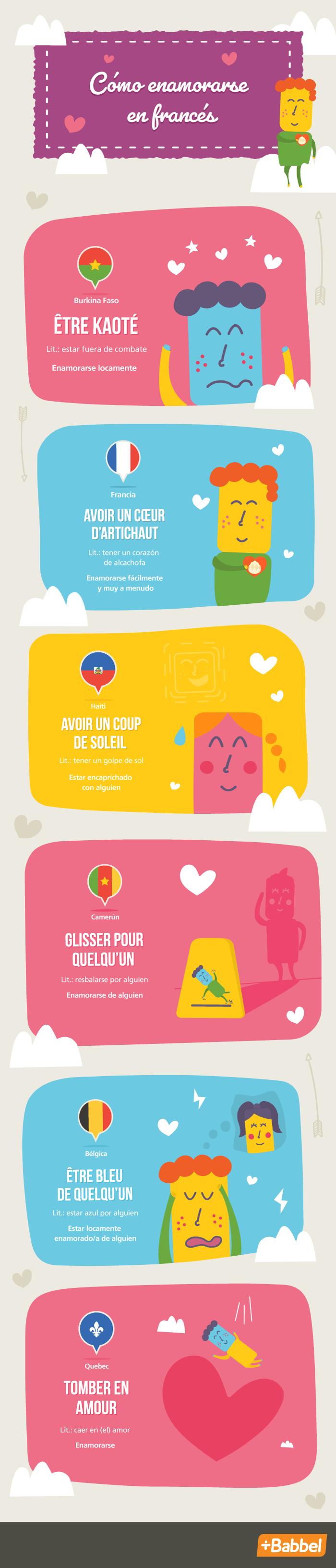 Declara tu amor con una frase romántica en francés