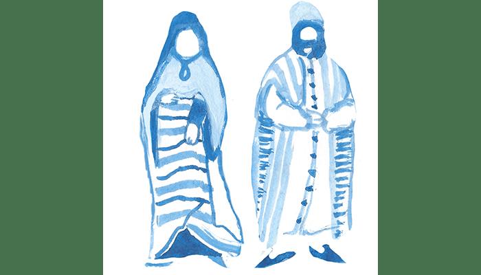 « Jupe » est un mot français d'origine arabe : jubba ou giubba