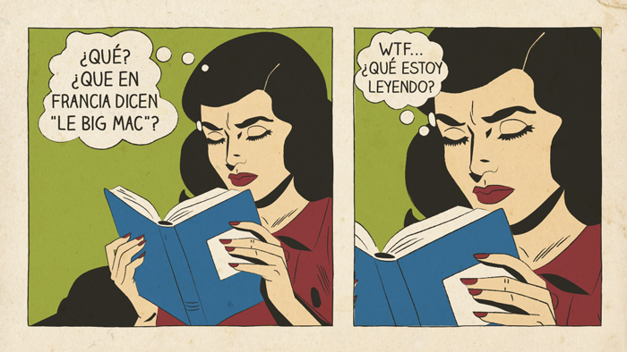 Leer en otros idiomas y el aprendizaje