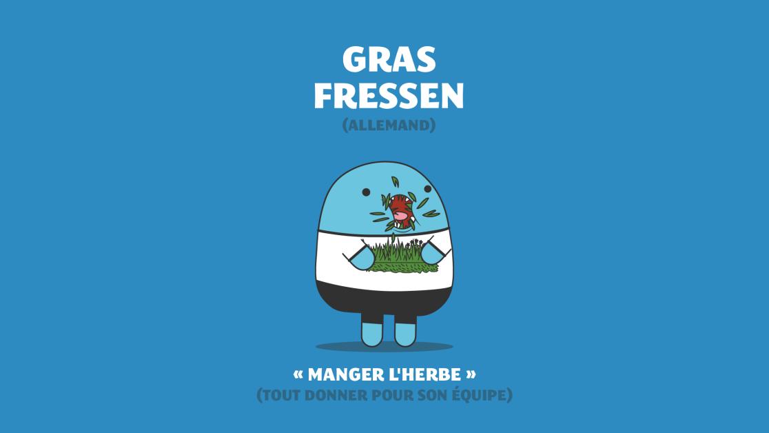 L'expression Gras Fressen en allemand