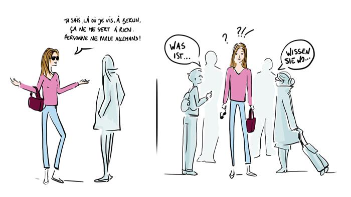 Parmi les pires excuses pour ne pas travailler les langues, certaines sont plutôt… culottées !