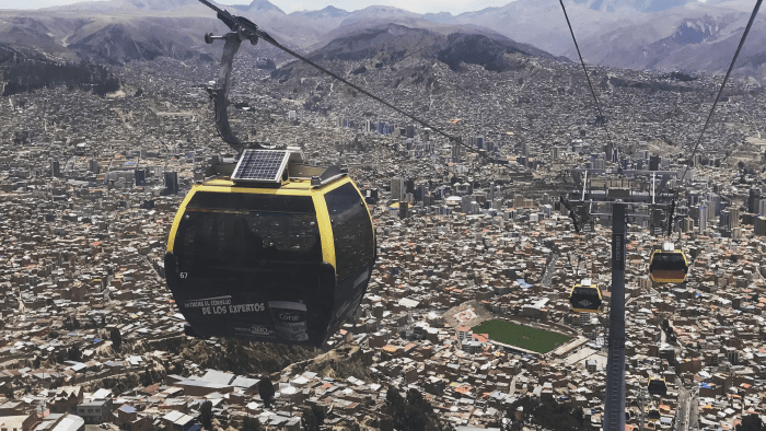 Subway Stations Around The World — Bolivia