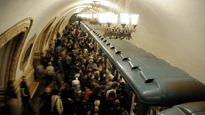 Subway Stations Around The World — Moscow